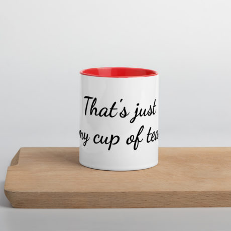 That's just my cup of tea.