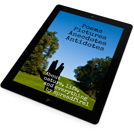 eBook on iPad – Poems, Pictures, Anecdotes & Antidotes