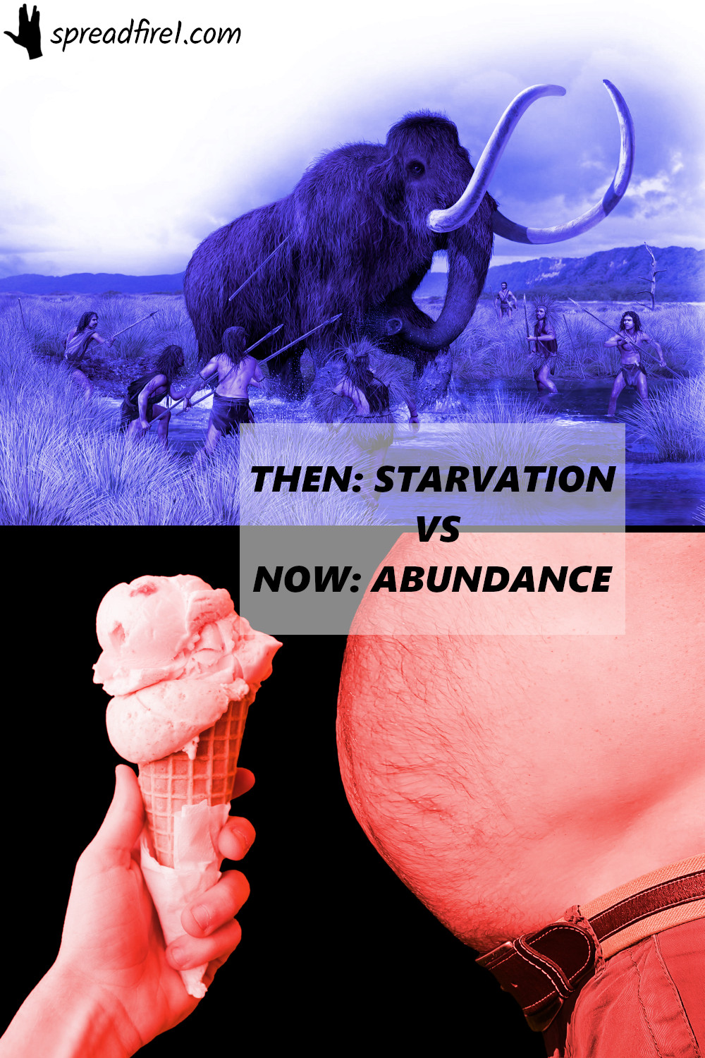Instant gratification helped humans and other animals survive. In today's abundant times, it can become a nuisance and should often be avoided in favor of a larger, delayed long term benefit.